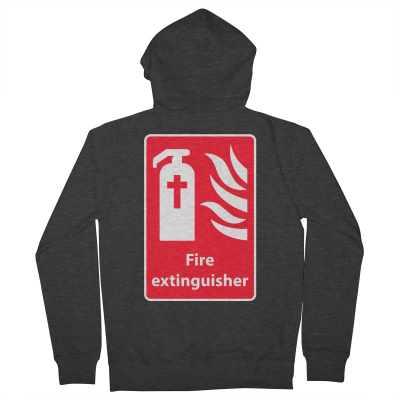 Fire Extinguisher For Hell Men's Zip-Up Hoody by Kelsorian T-shirt Shop