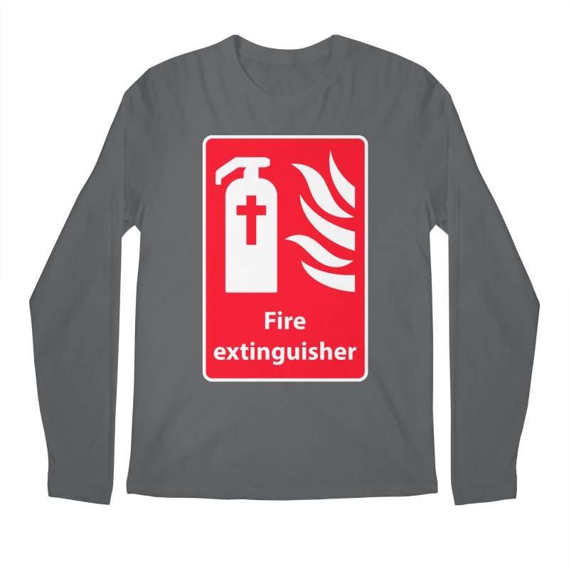 Fire Extinguisher For Hell Men's Regular Longsleeve T-Shirt by Kelsorian T-shirt Shop
