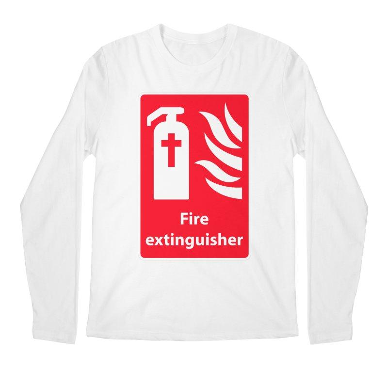 Fire Extinguisher For Hell Men's Regular Longsleeve T-Shirt by Kelsorian T-shirt Shop