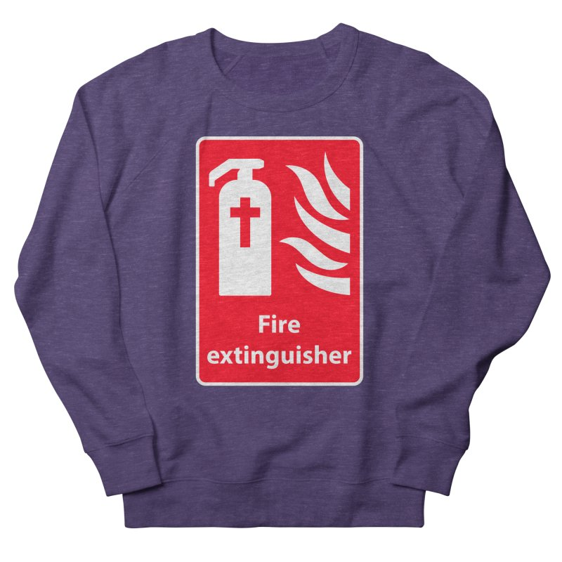 Fire Extinguisher For Hell Men's French Terry Sweatshirt by Kelsorian T-shirt Shop