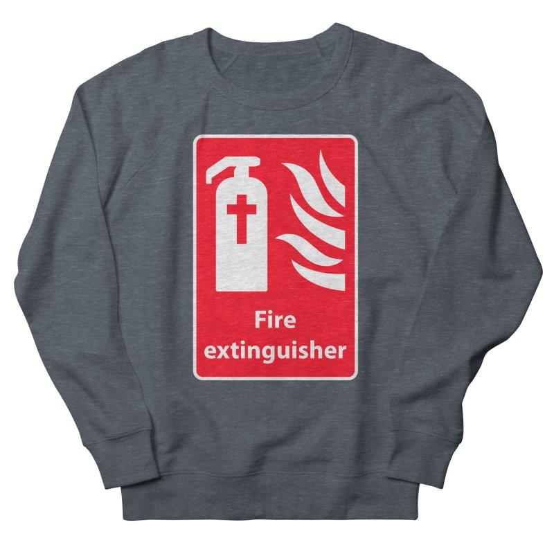 Fire Extinguisher For Hell Men's Sweatshirt by Kelsorian T-shirt Shop