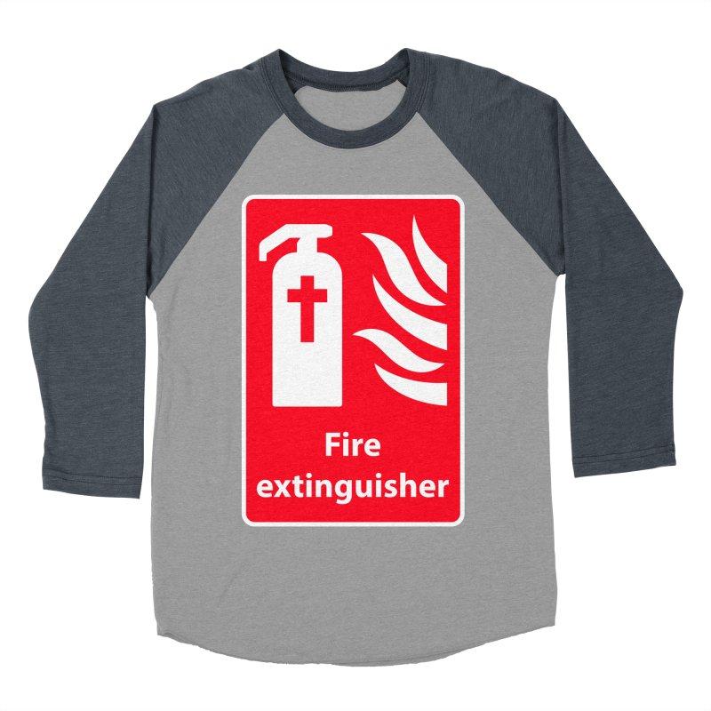 Fire Extinguisher For Hell Women's Baseball Triblend Longsleeve T-Shirt by Kelsorian T-shirt Shop