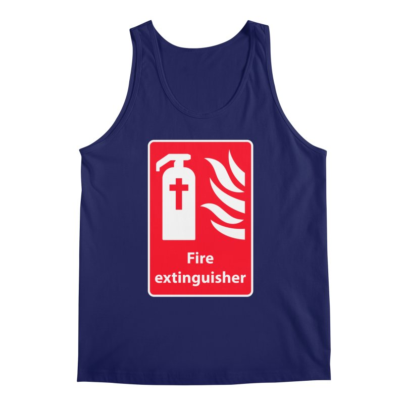 Fire Extinguisher For Hell Men's Tank by Kelsorian T-shirt Shop