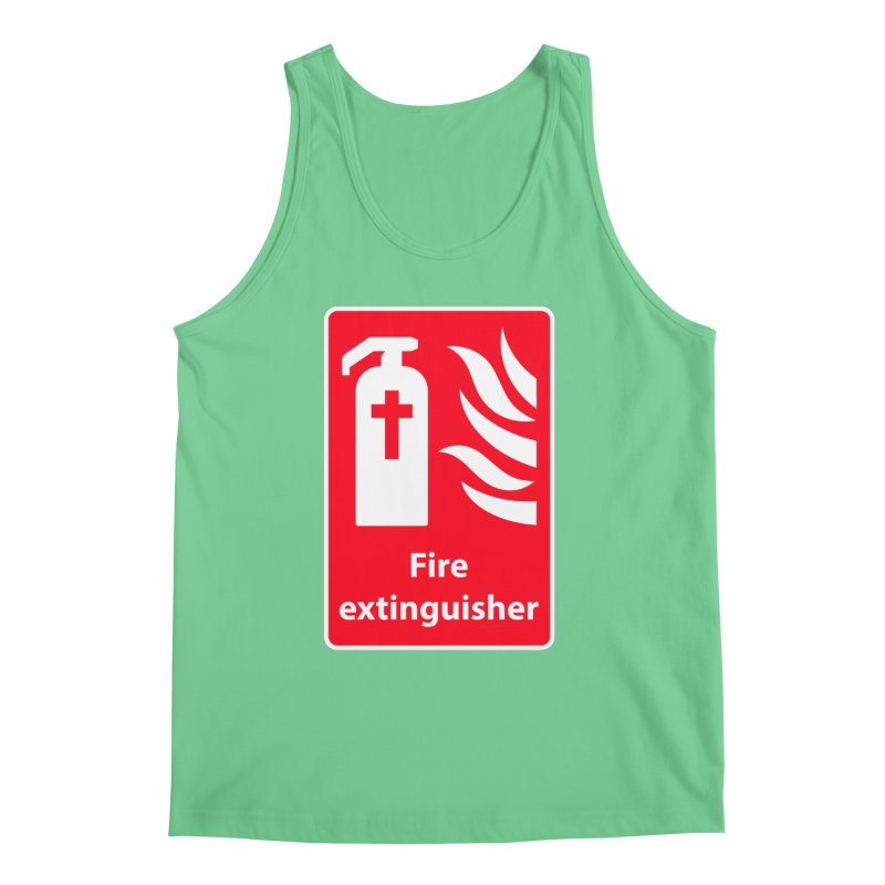 Fire Extinguisher For Hell Men's Regular Tank by Kelsorian T-shirt Shop