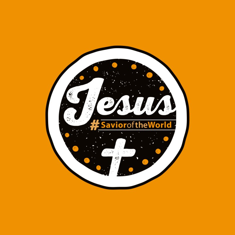 Jesus the Savior Emblem Men's T-Shirt by Kelsorian T-shirt Shop