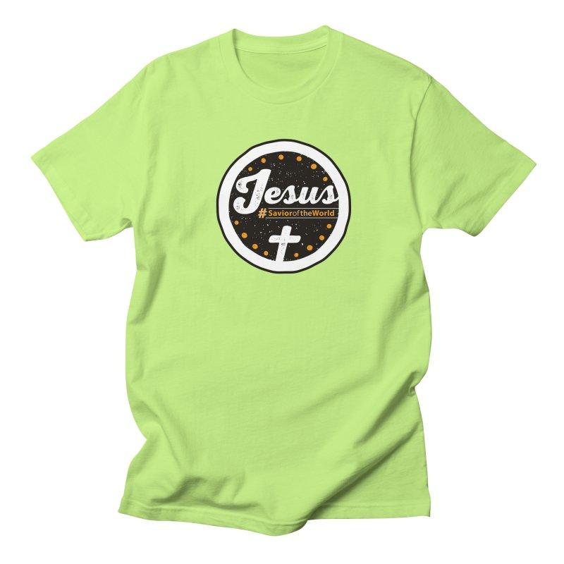 Jesus the Savior Emblem Men's T-Shirt by Kelsorian T-shirt Shop