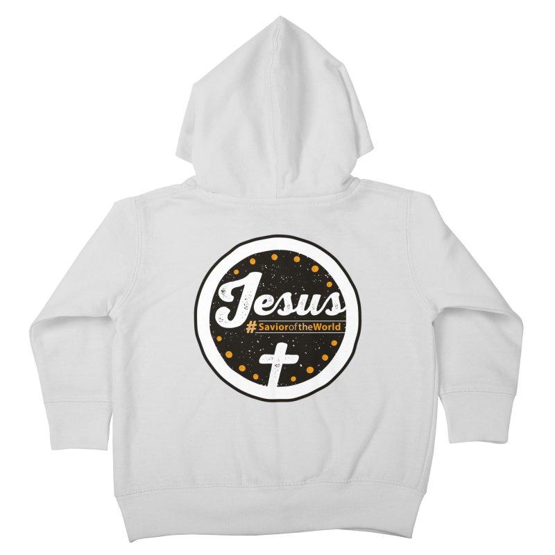 Jesus the Savior Emblem   by Kelsorian T-shirt Shop