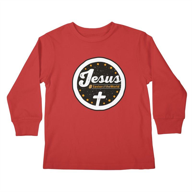 Jesus the Savior Emblem Kids  by Kelsorian T-shirt Shop