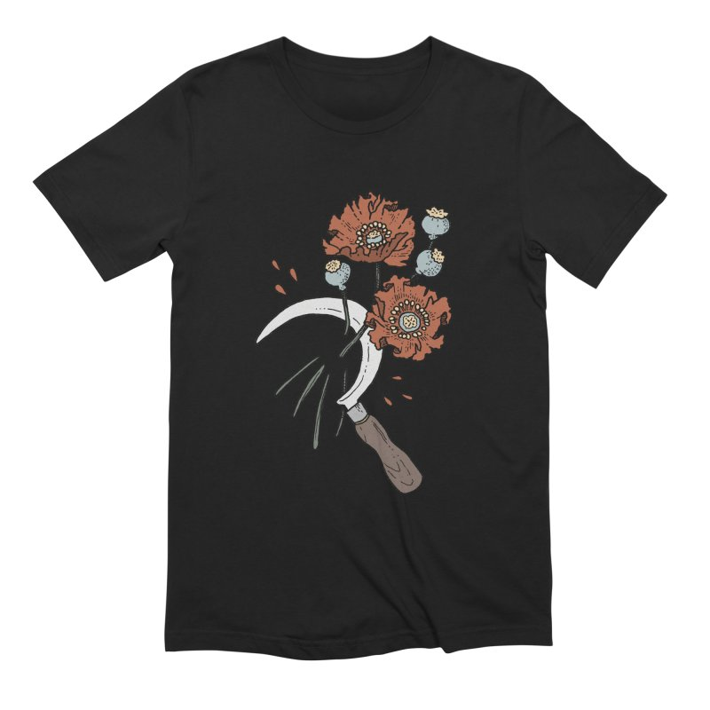 Reaper Men's Extra Soft T-Shirt by Tenderheart Studio