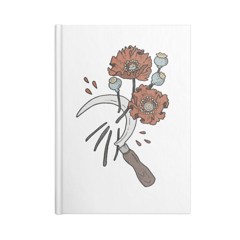 Reaper Accessories Blank Journal Notebook by Tenderheart Studio