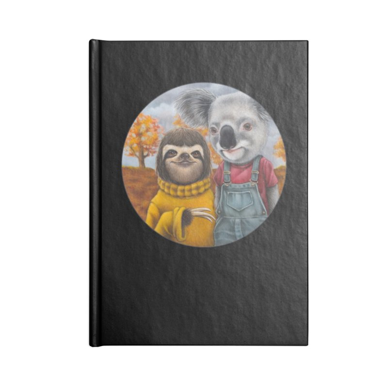 Fast Friends Accessories Lined Journal Notebook by Ken Keirns