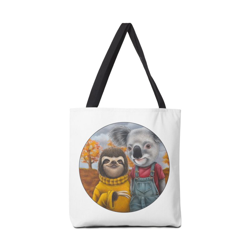Fast Friends Accessories Tote Bag Bag by Ken Keirns