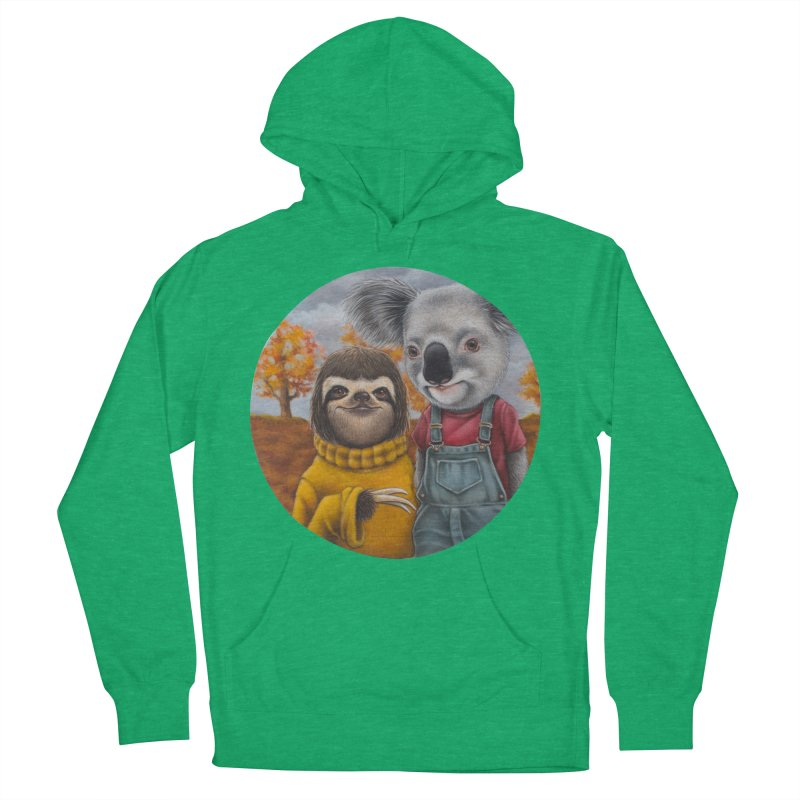 Fast Friends Men's Pullover Hoody by kenkeirns's Artist Shop