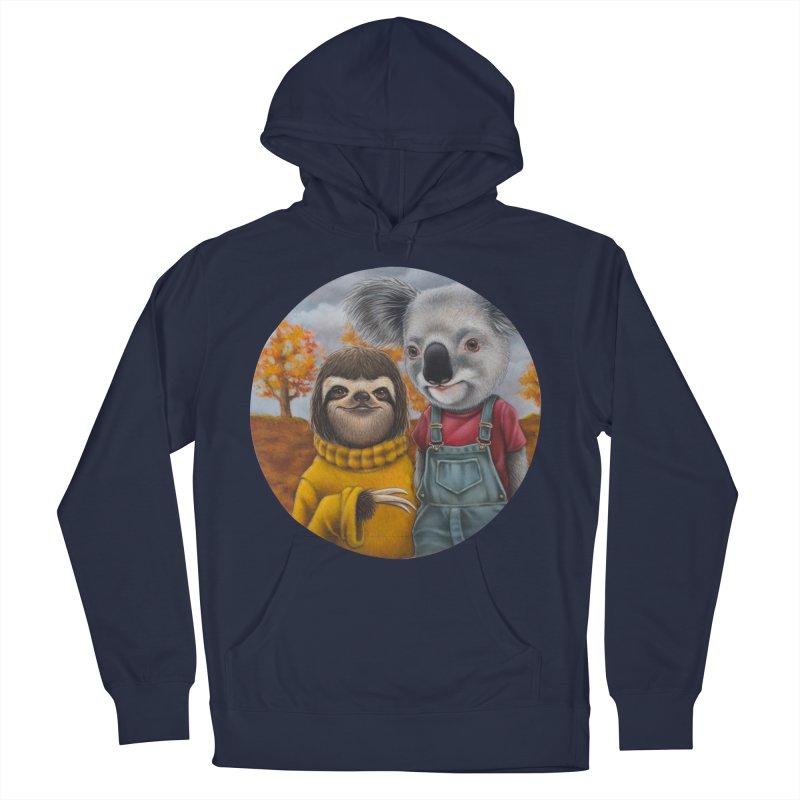 Fast Friends Men's Pullover Hoody by kenkeirns's Artist Shop