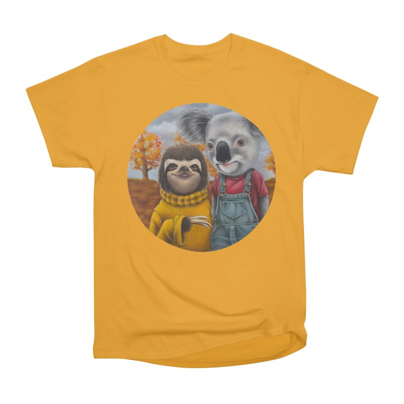 Fast Friends Men's Classic T-Shirt by kenkeirns's Artist Shop