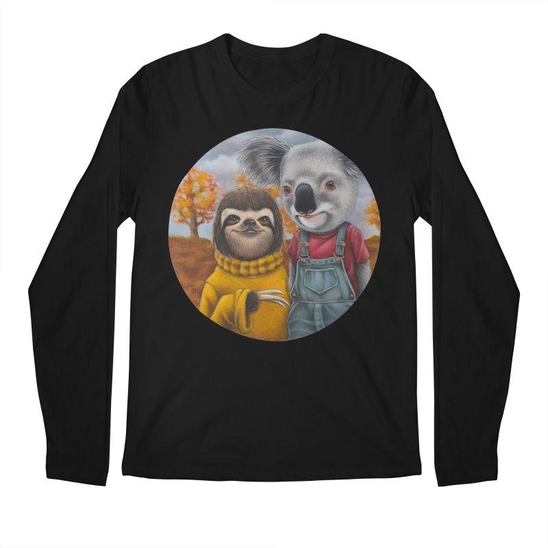 Fast Friends Men's Longsleeve T-Shirt by kenkeirns's Artist Shop