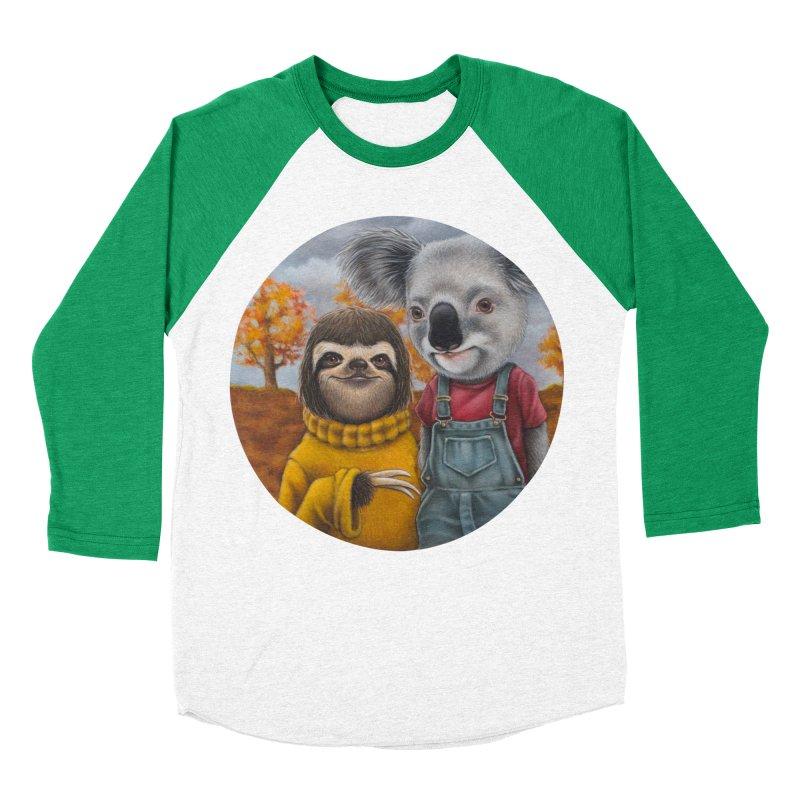 Fast Friends Women's Baseball Triblend T-Shirt by kenkeirns's Artist Shop
