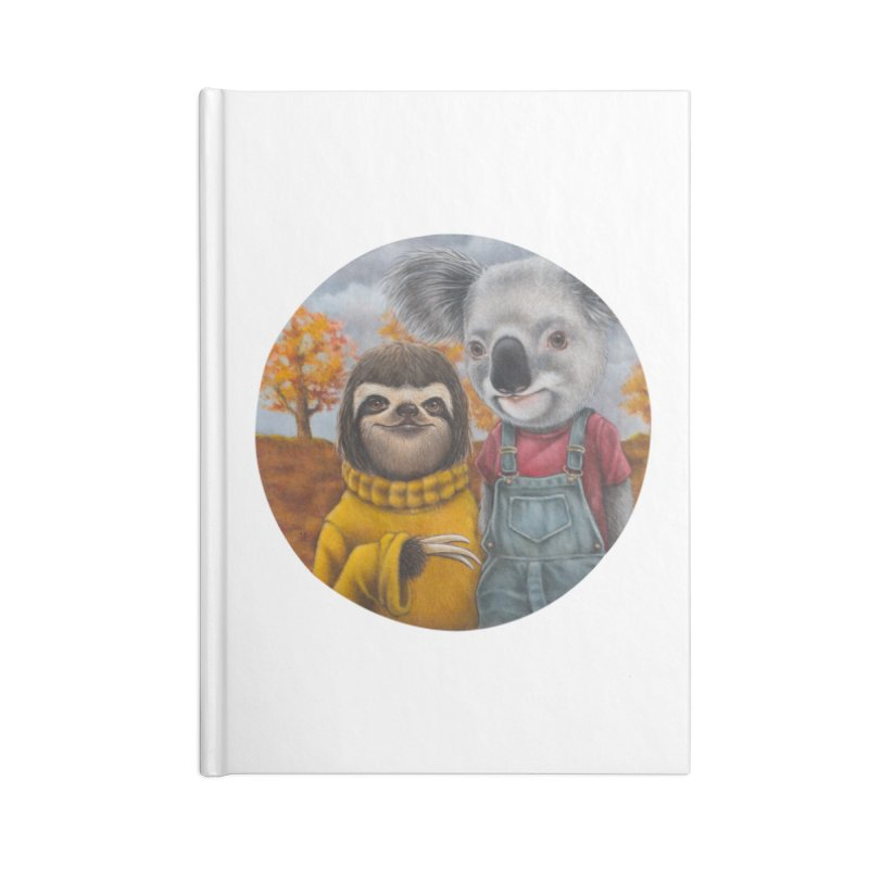 Fast Friends Accessories Notebook by kenkeirns's Artist Shop