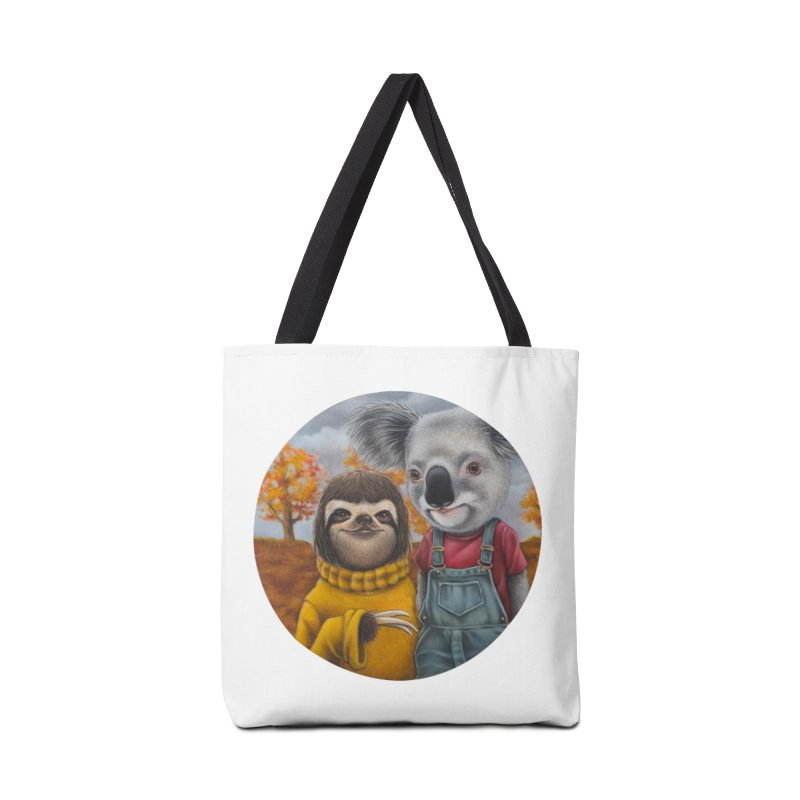 Fast Friends Accessories Bag by kenkeirns's Artist Shop