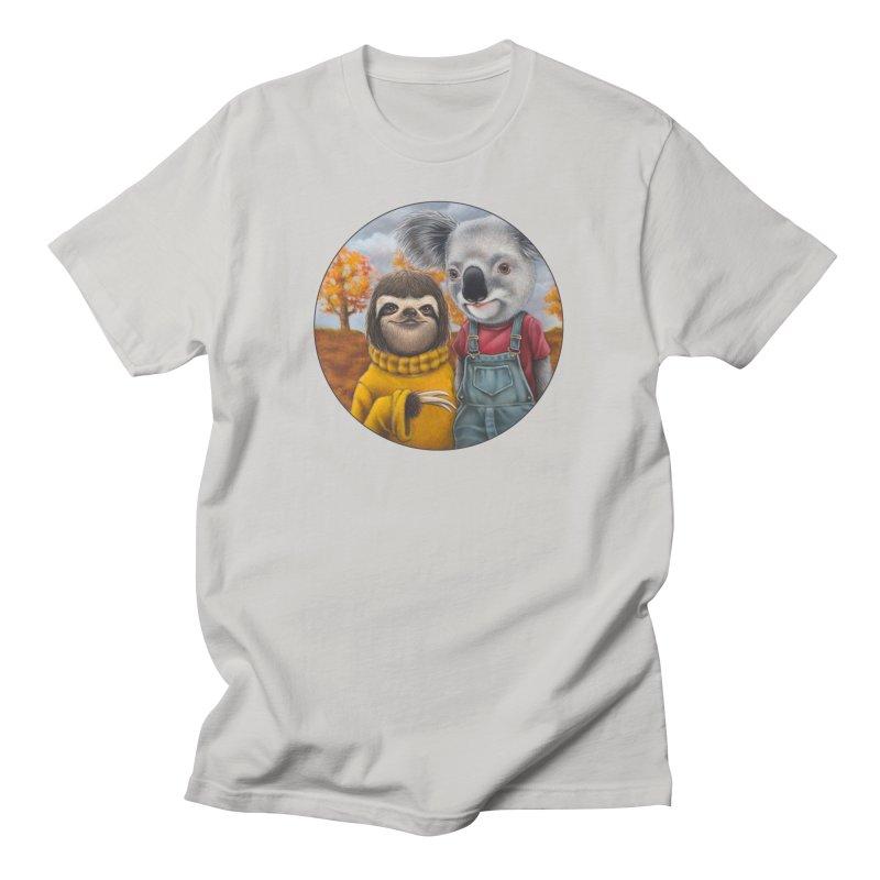 Fast Friends Men's T-Shirt by Ken Keirns