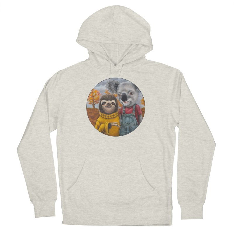 Fast Friends Women's French Terry Pullover Hoody by Ken Keirns