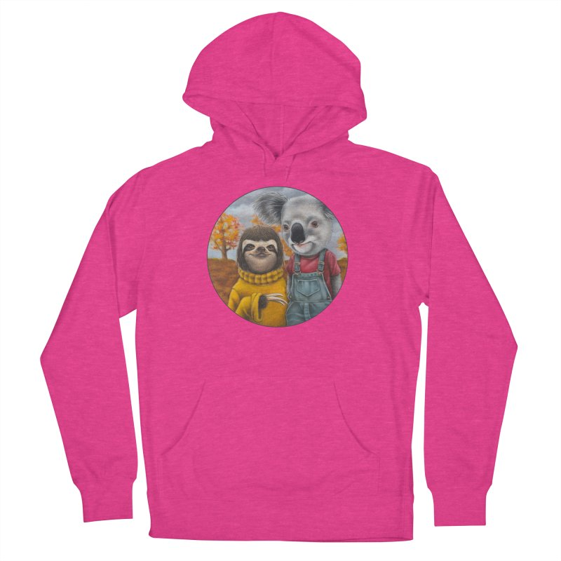 Fast Friends Men's French Terry Pullover Hoody by Ken Keirns