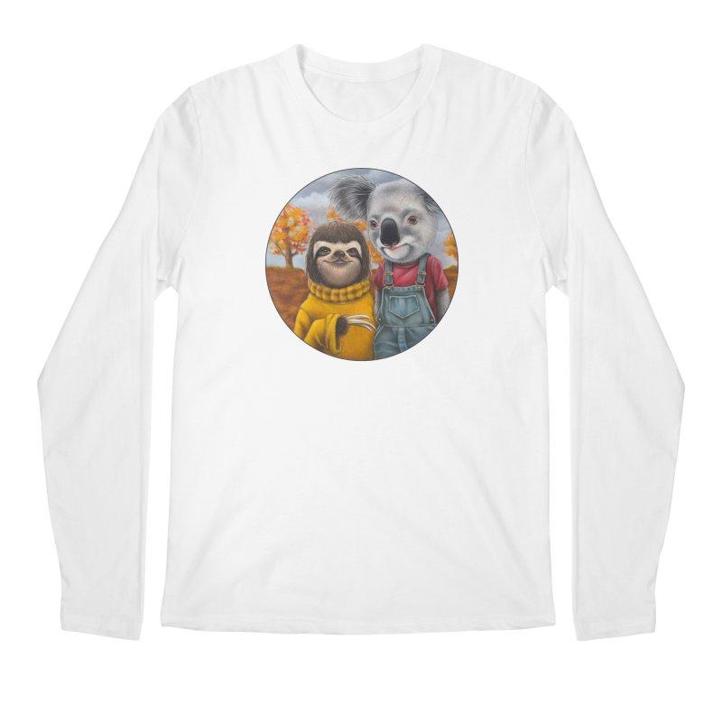 Fast Friends Men's Regular Longsleeve T-Shirt by Ken Keirns