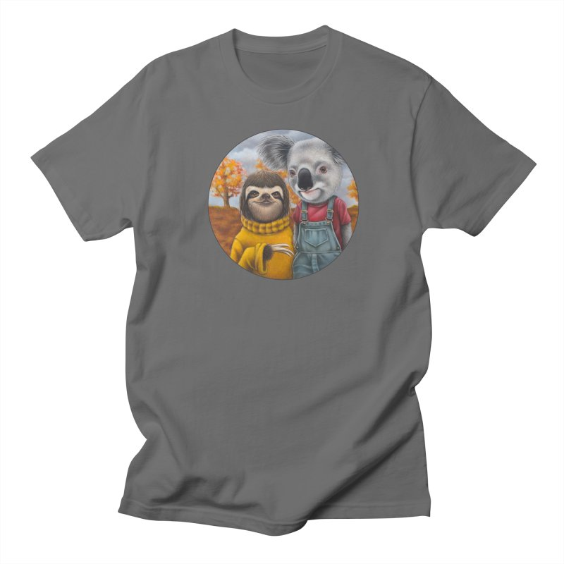 Fast Friends Men's T-Shirt by Ken Keirns