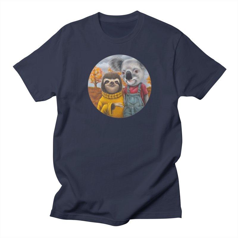 Fast Friends Men's Regular T-Shirt by Ken Keirns
