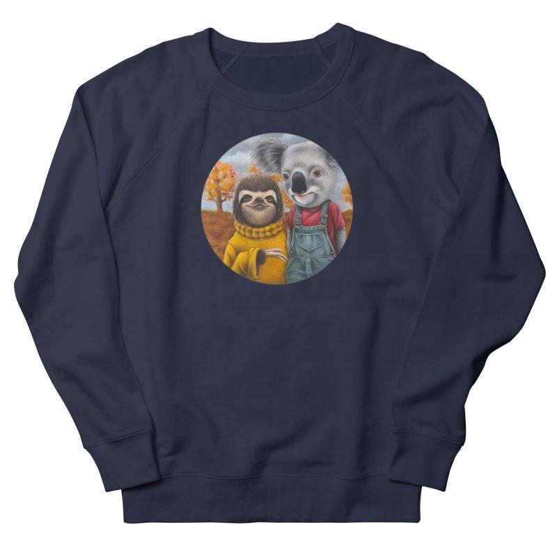 Fast Friends Women's French Terry Sweatshirt by Ken Keirns