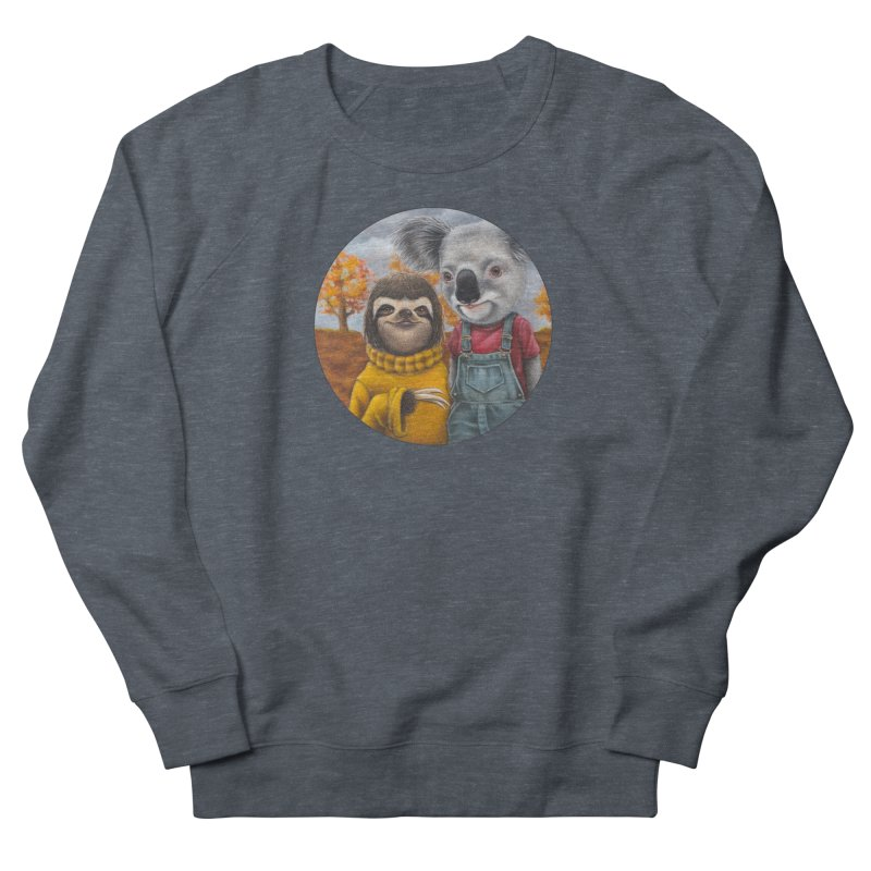 Fast Friends Men's French Terry Sweatshirt by Ken Keirns