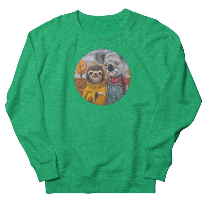 Fast Friends Men's French Terry Sweatshirt by Ken Keirns
