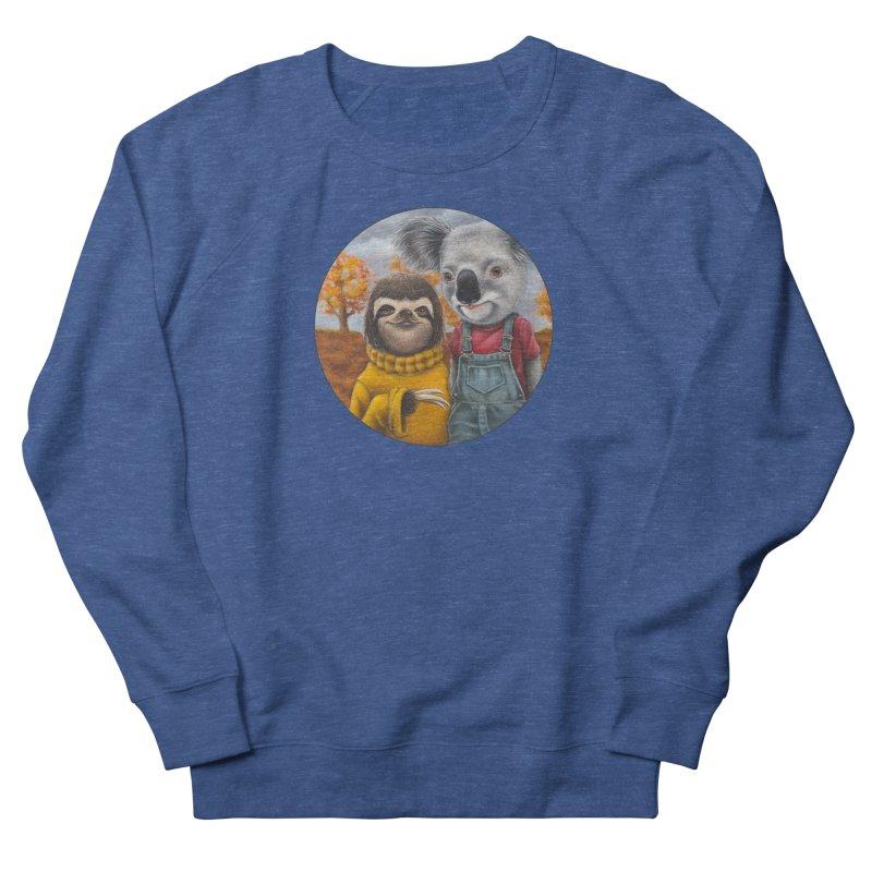 Fast Friends Men's Sweatshirt by Ken Keirns