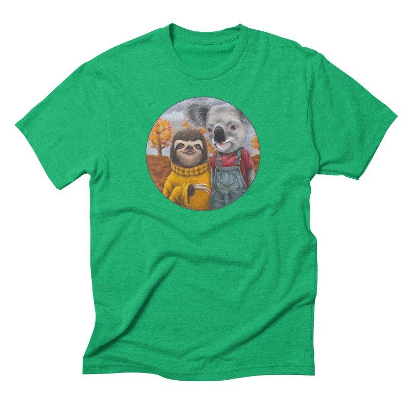 Fast Friends Men's Triblend T-Shirt by Ken Keirns
