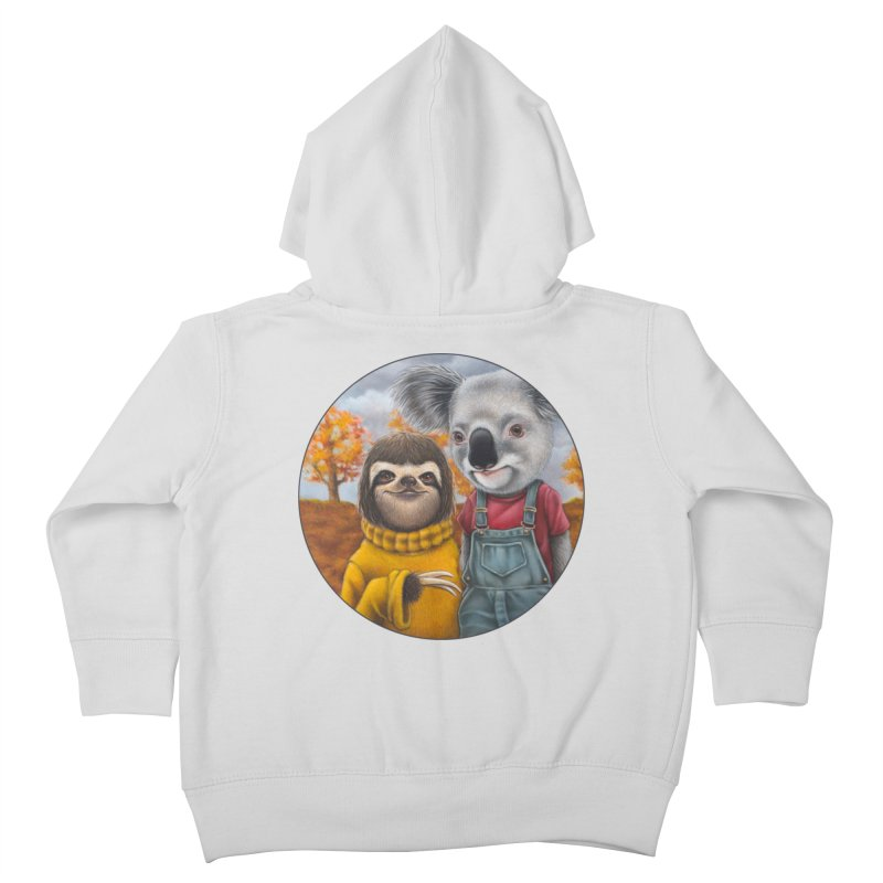 Fast Friends Kids Toddler Zip-Up Hoody by Ken Keirns