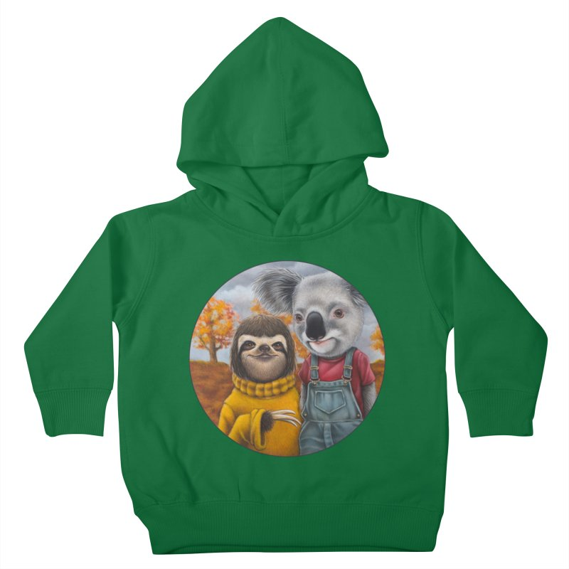 Fast Friends Kids Toddler Pullover Hoody by Ken Keirns