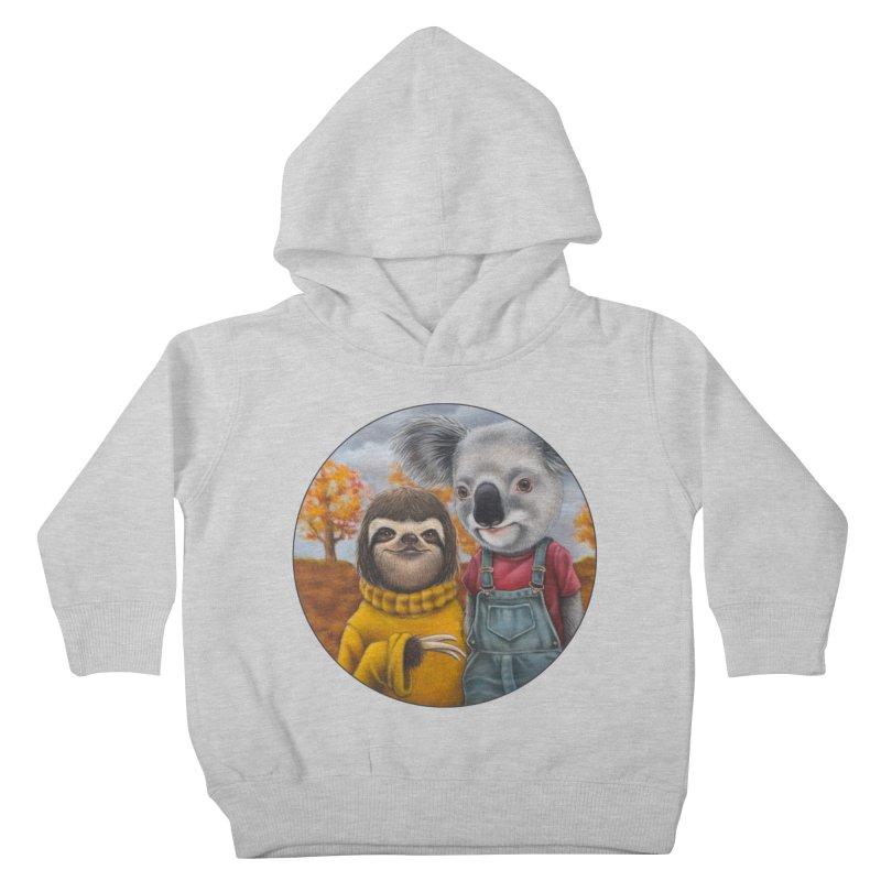 Fast Friends Kids Toddler Pullover Hoody by Ken Keirns