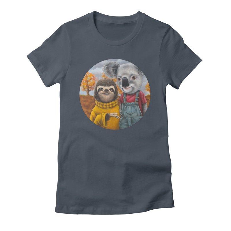 Fast Friends Women's T-Shirt by Ken Keirns