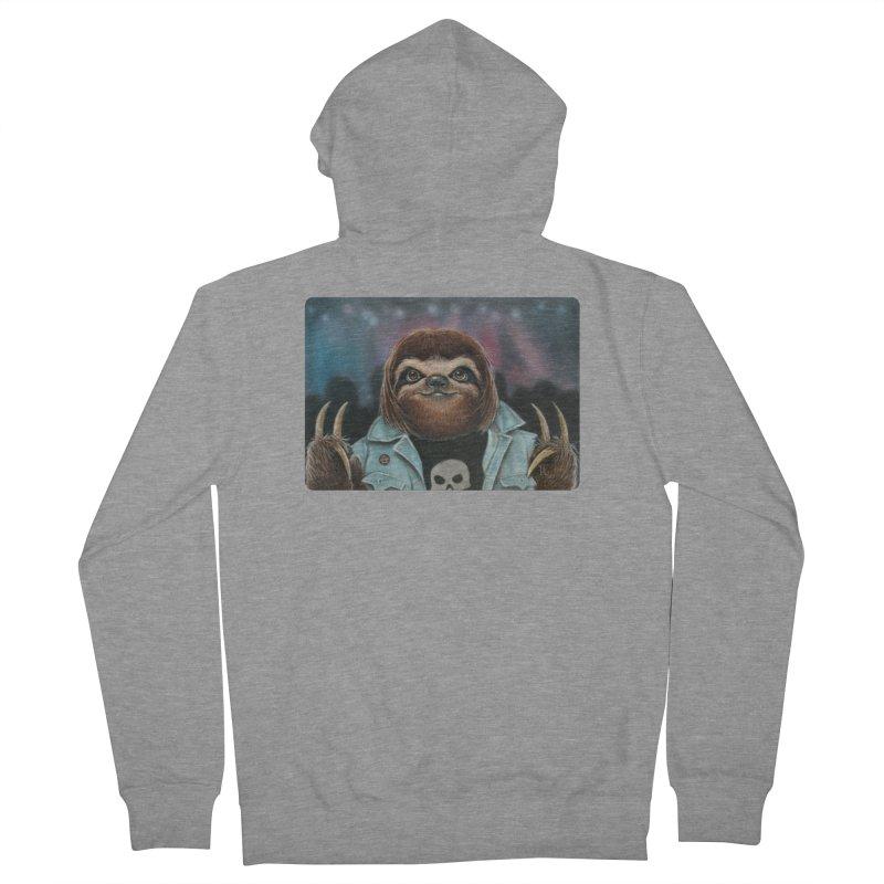 Metal Sloth Women's Zip-Up Hoody by kenkeirns's Artist Shop
