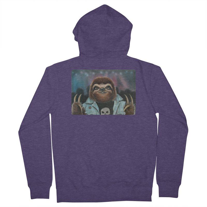 Metal Sloth Men's Zip-Up Hoody by kenkeirns's Artist Shop