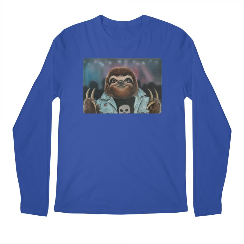 Metal Sloth Men's Longsleeve T-Shirt by kenkeirns's Artist Shop