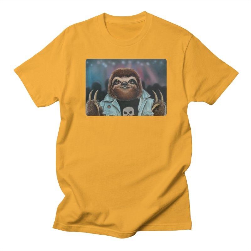 Metal Sloth Men's T-shirt by kenkeirns's Artist Shop