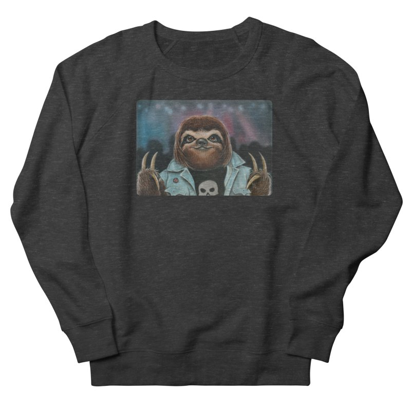 Metal Sloth Women's Sweatshirt by kenkeirns's Artist Shop