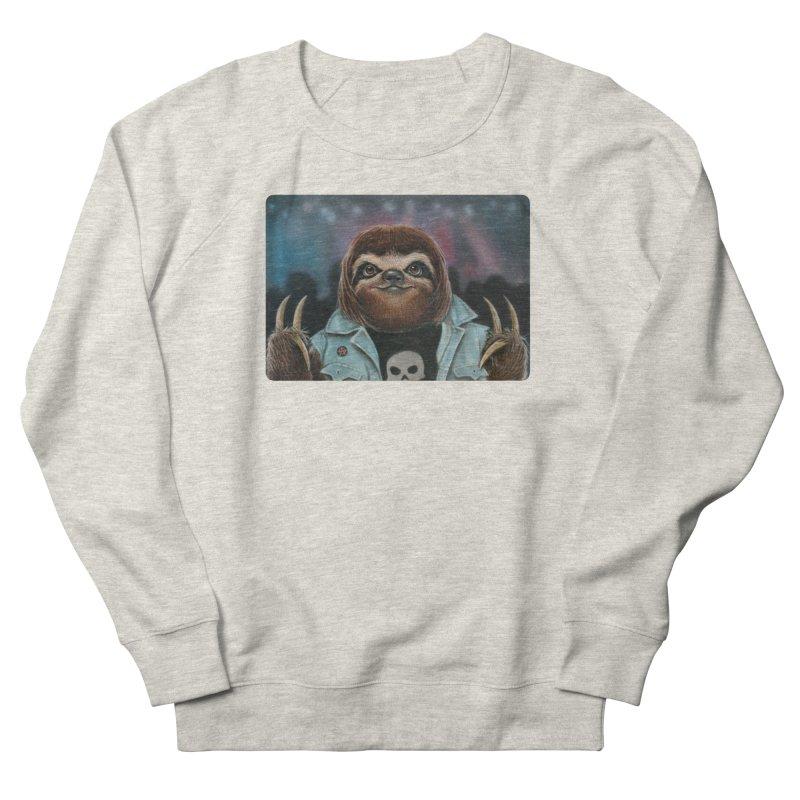 Metal Sloth Men's Sweatshirt by kenkeirns's Artist Shop