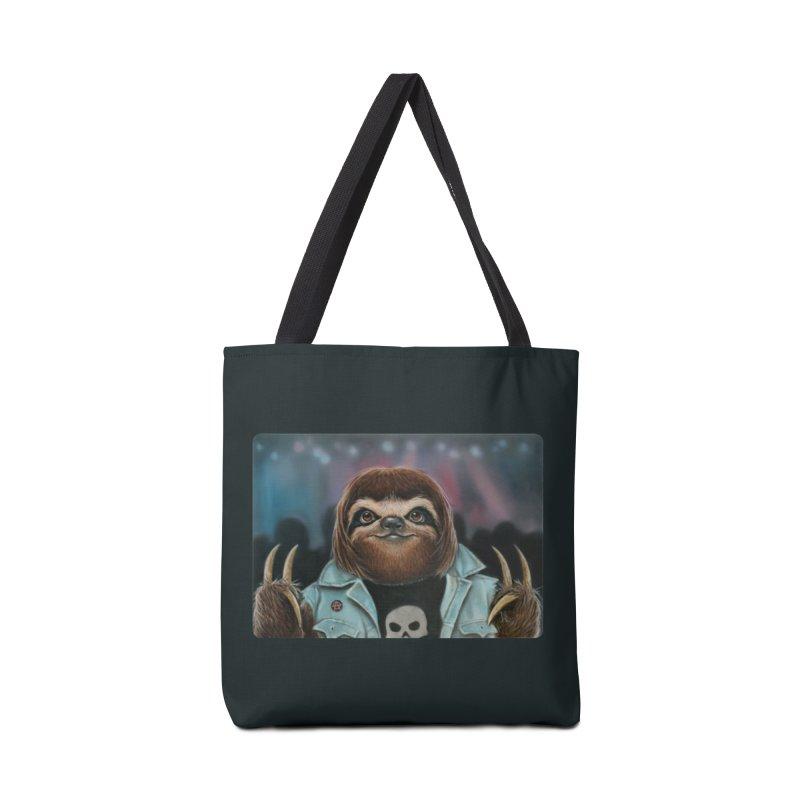 Metal Sloth Accessories Bag by kenkeirns's Artist Shop
