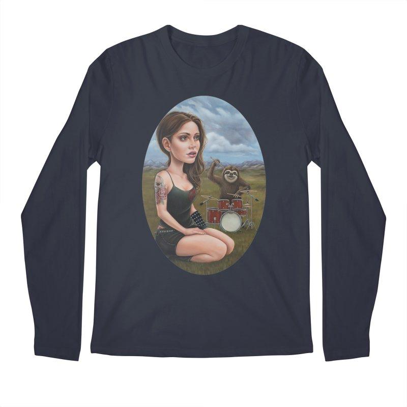 Slow Jam Men's Longsleeve T-Shirt by kenkeirns's Artist Shop