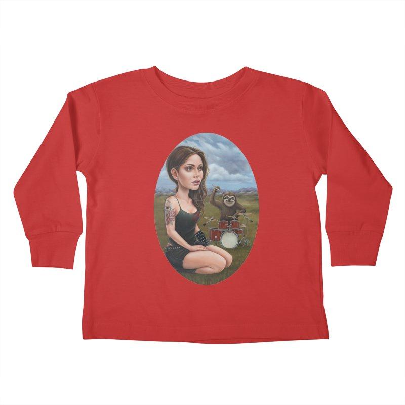 Slow Jam Kids Toddler Longsleeve T-Shirt by kenkeirns's Artist Shop