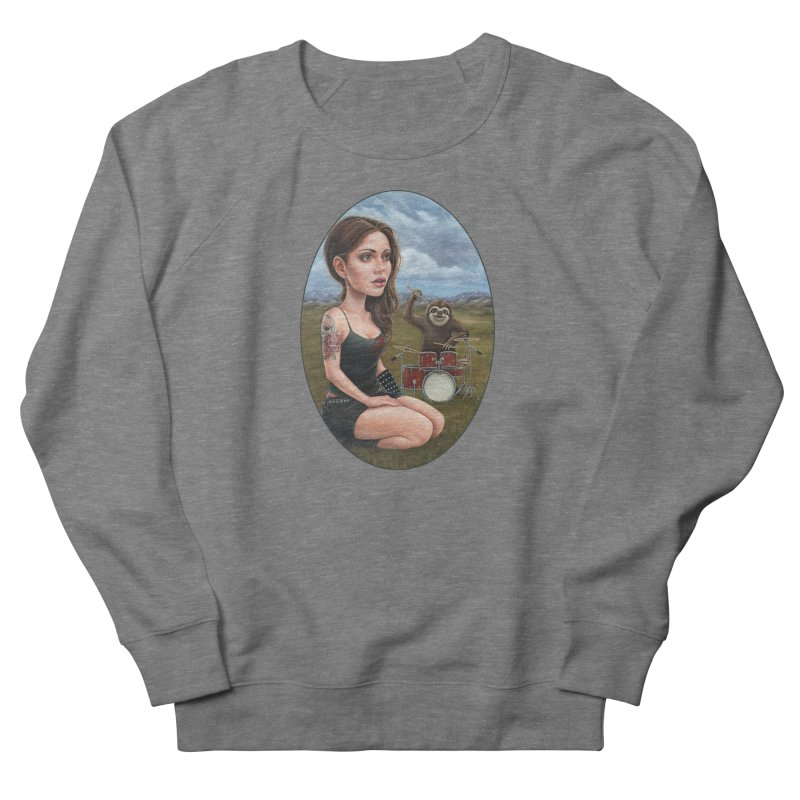 Slow Jam Women's French Terry Sweatshirt by Ken Keirns