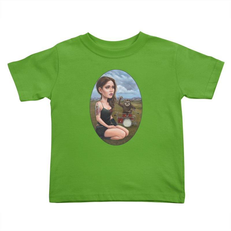 Slow Jam Kids Toddler T-Shirt by Ken Keirns