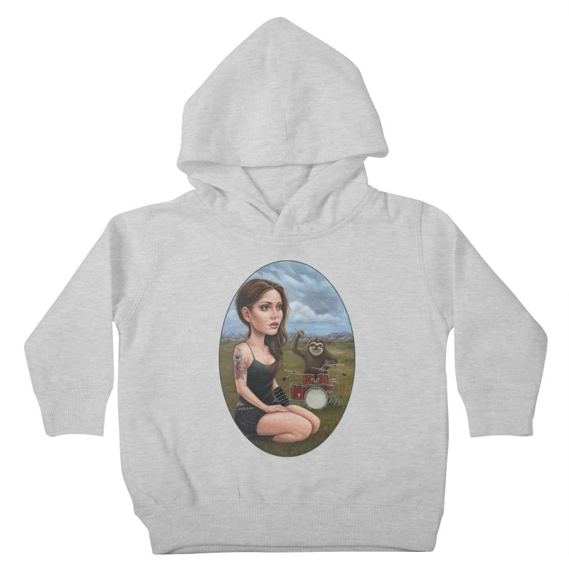Slow Jam Kids Toddler Pullover Hoody by Ken Keirns